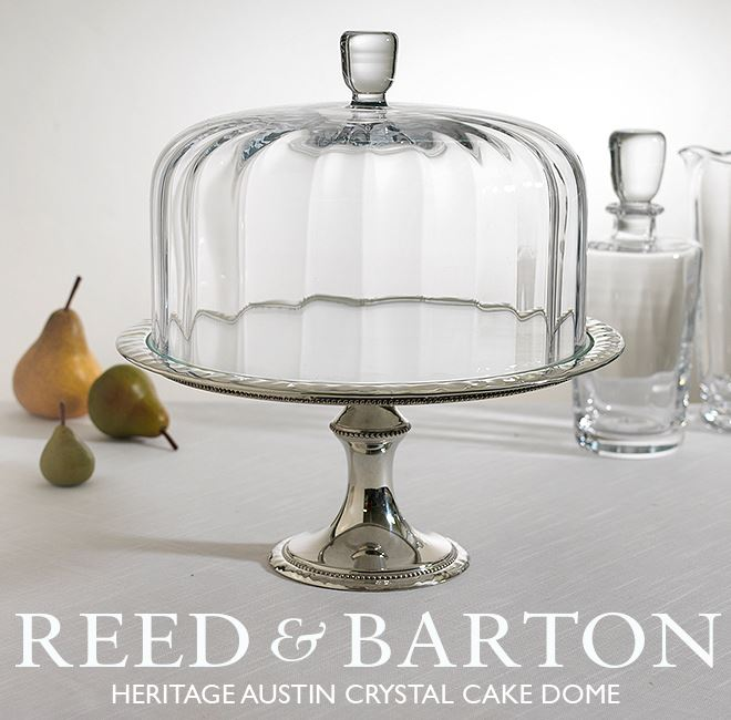 Reed Barton Have Your Cake Show It Off Too The Heritage Austin Dome Is Exquisitely Handc From Colleen S China In Dublin Ga